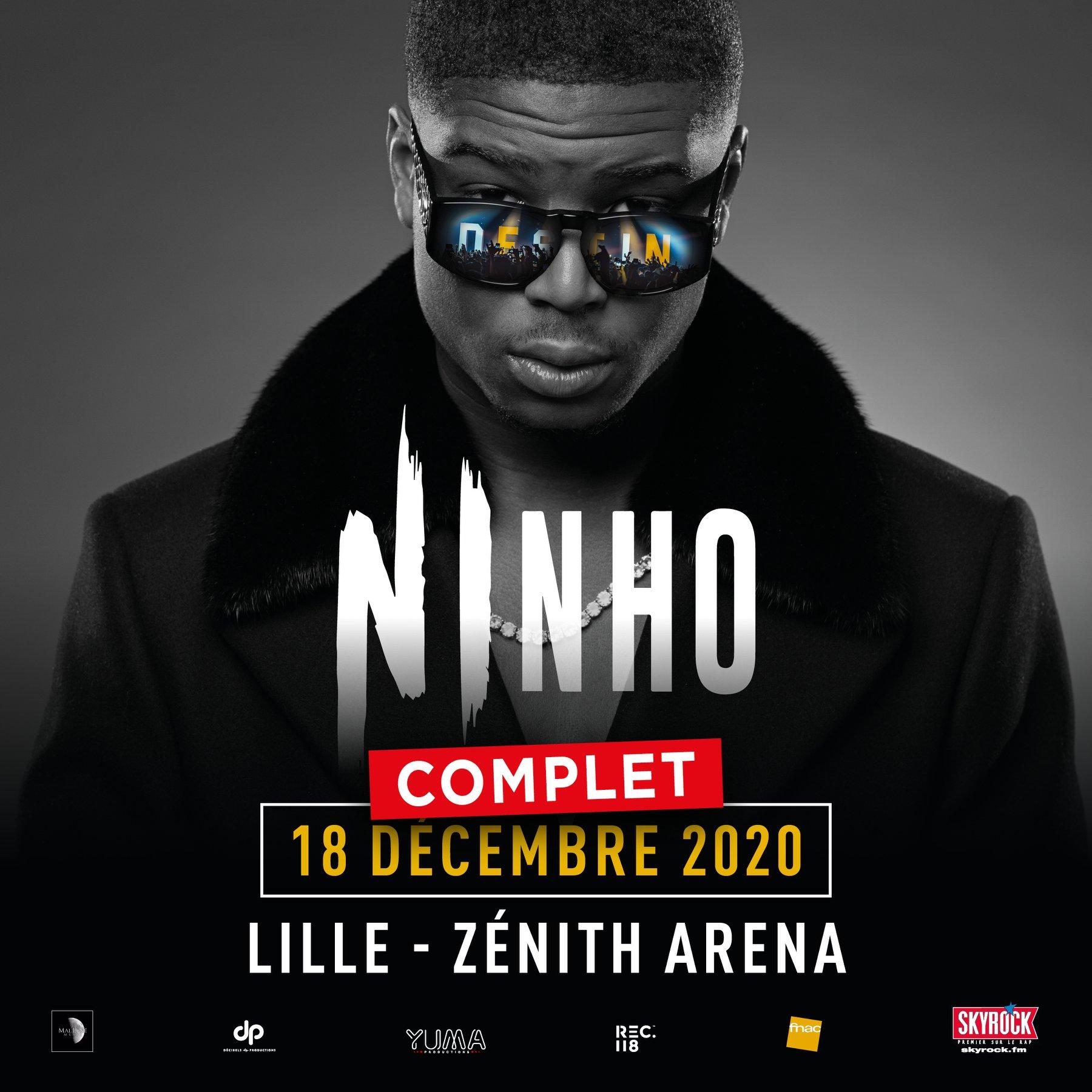 Ninho au Zénith de Lille