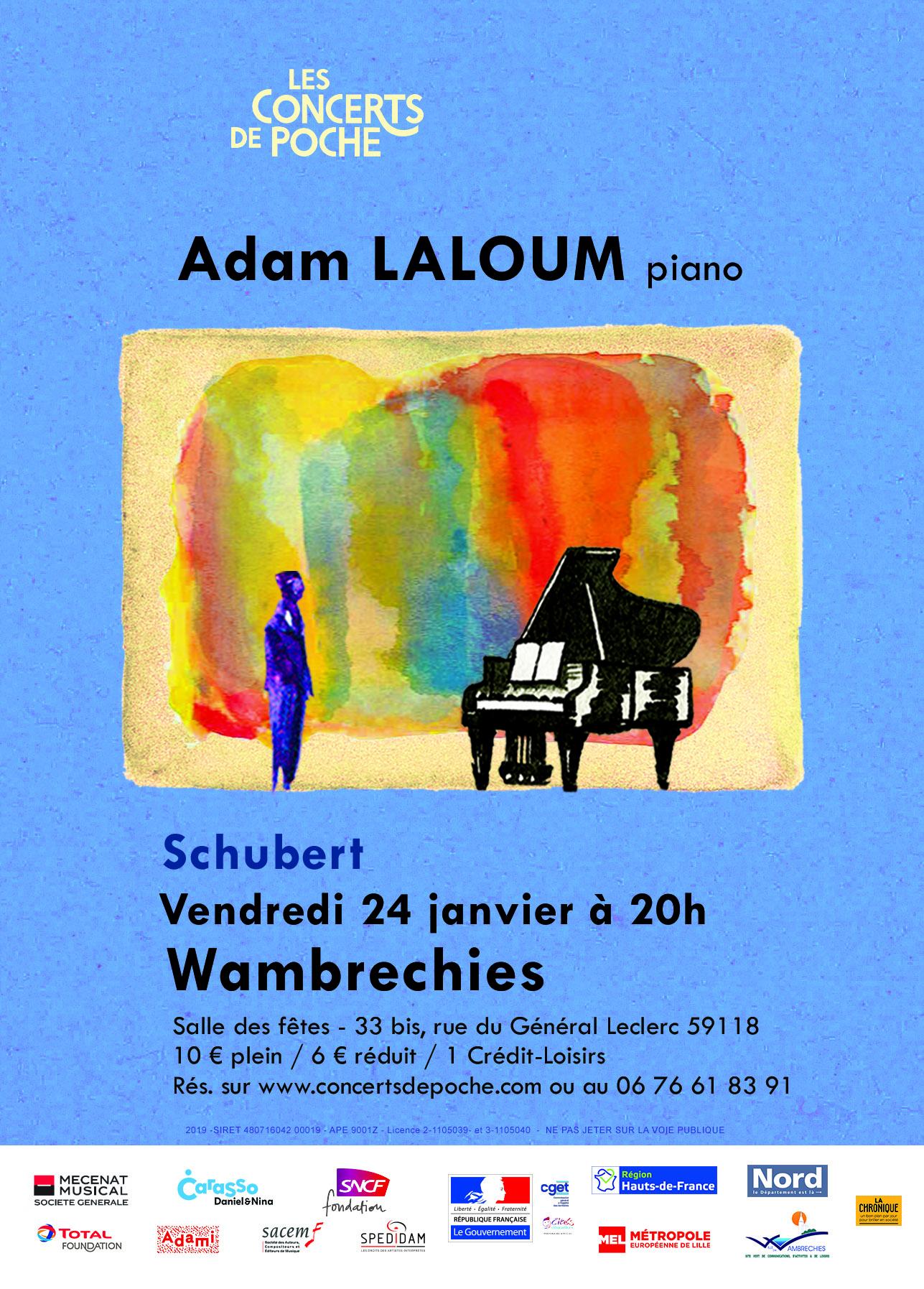 Adam Laloum par Les Concerts de Poche