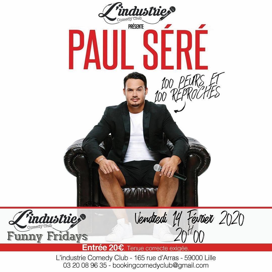 Paul Séré – 100 Peurs et 100 Reproches