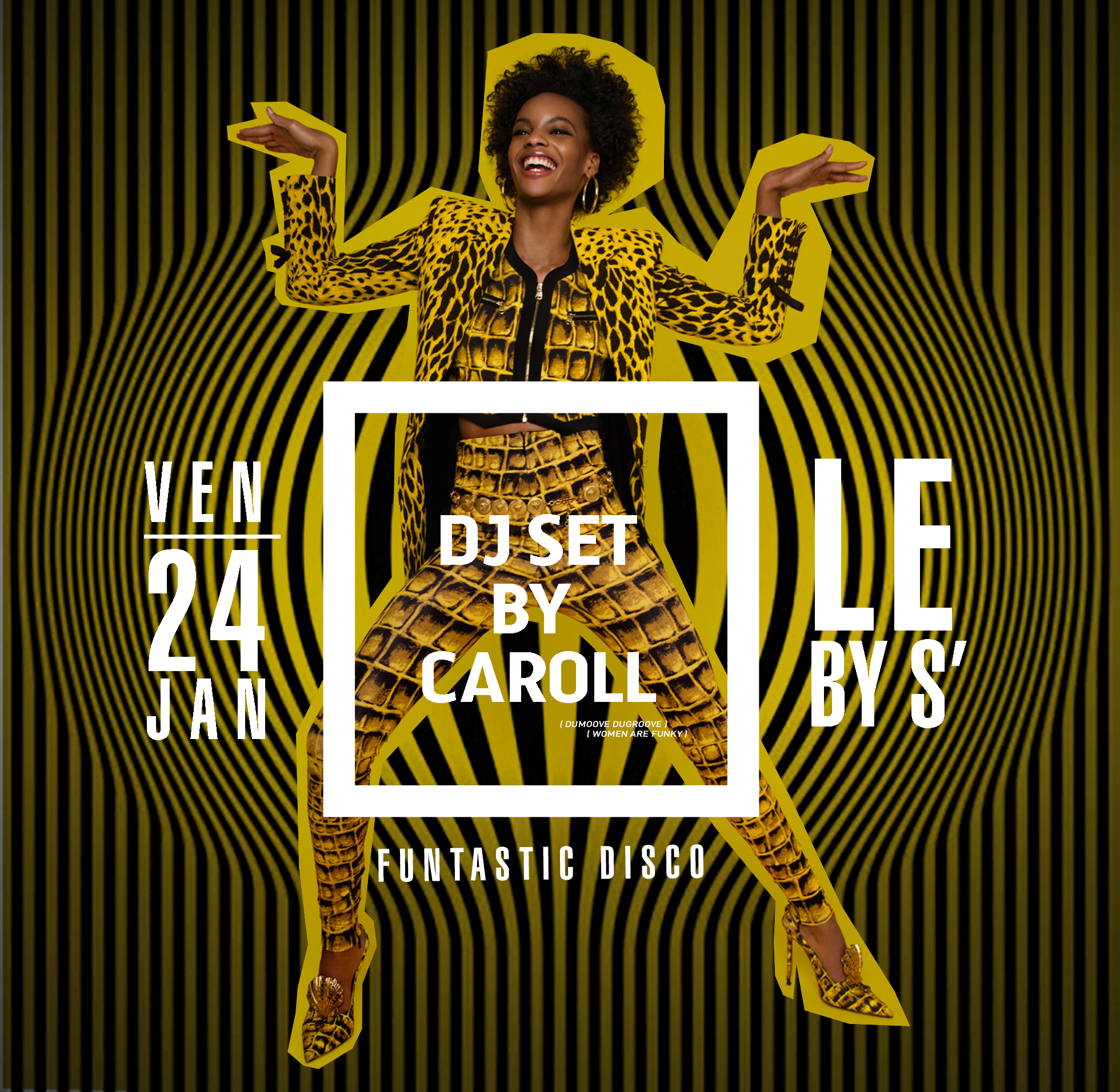 DJ Caroll pour Funtastic Disco