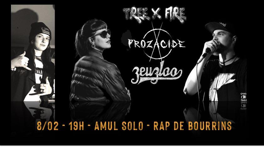 Threexfire + Prozacide + Zeuzloo