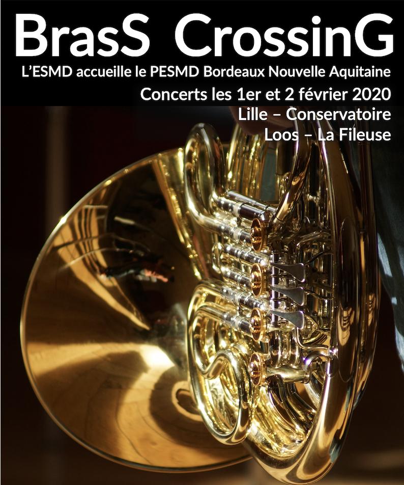 Brass Crossing au Conservatoire de Lille