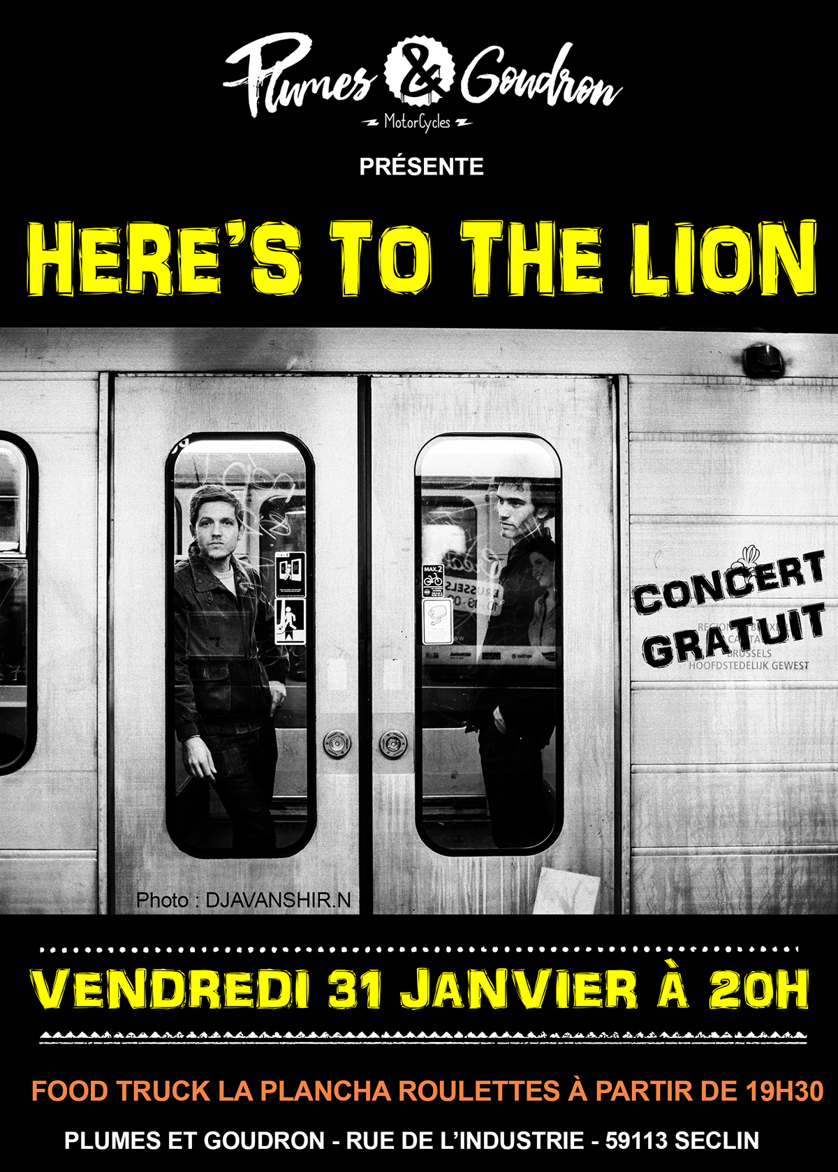 Here's to the Lion en concert