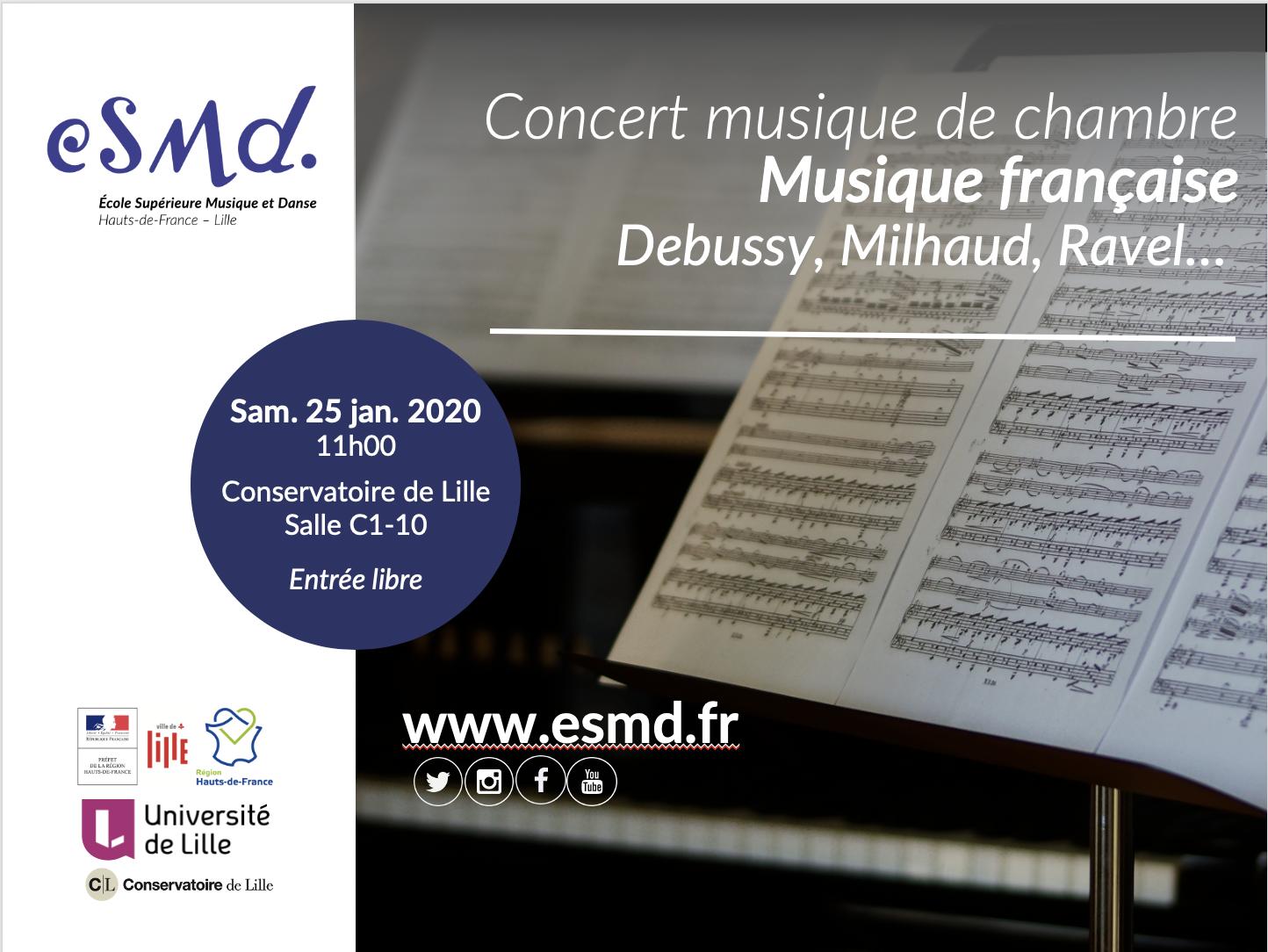 Concert «Musique Française»