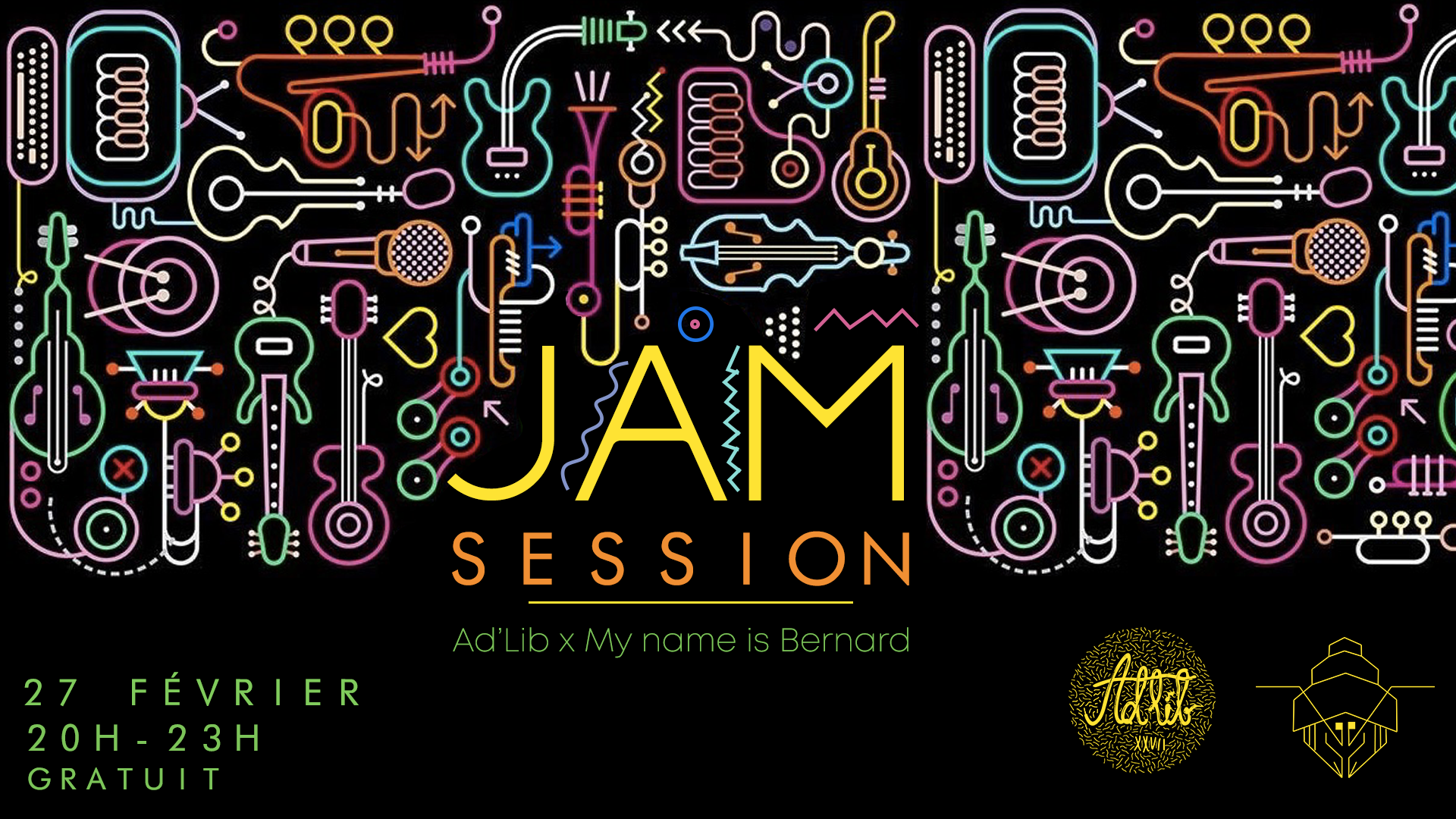 Jam session chez My Name Is Bernard