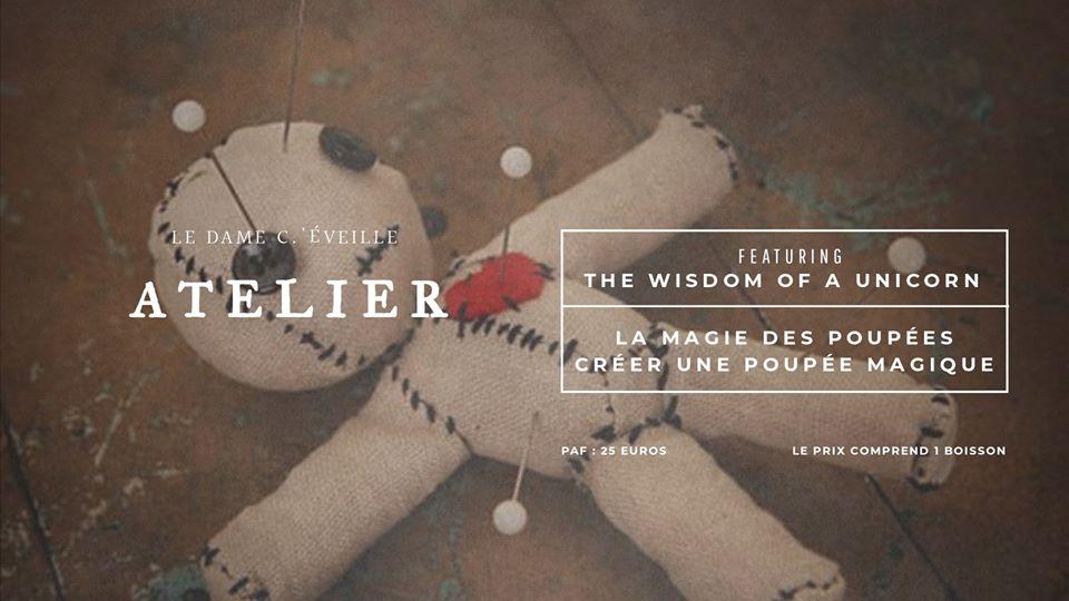 Atelier – Créer une poupée magique