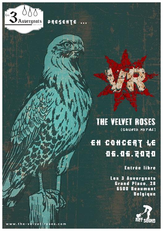The Velvet Roses aux 3 Auvergnats