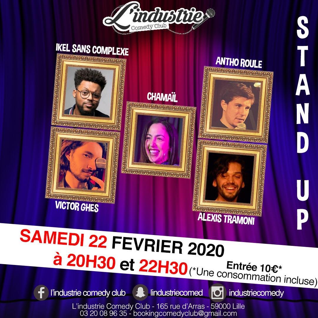Stand-Up! à l'industrie comedy club