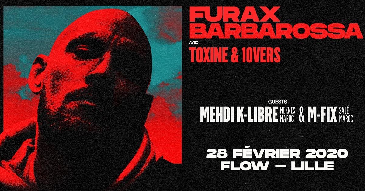 Furax Barbarossa en concert au Flow