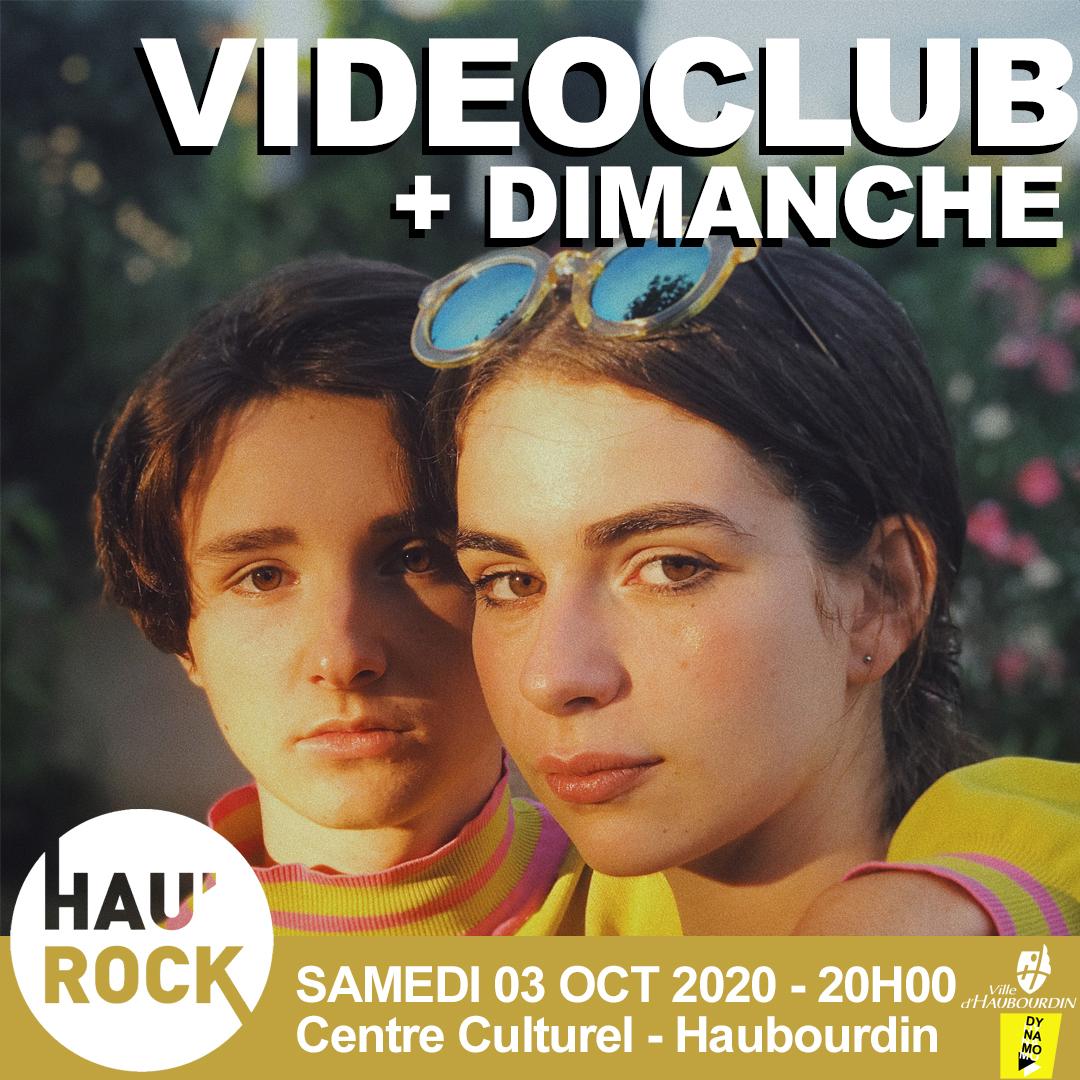 Hau'rock #6 – Videoclub + Dimanche