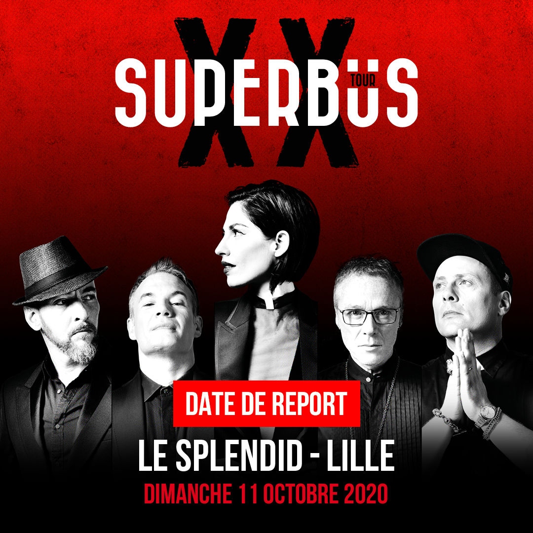 Superbus au Splendid