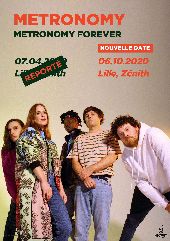 Metronomy au Zénith de Lille