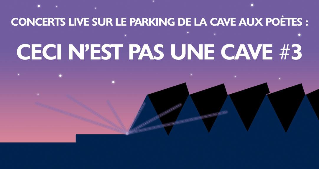 La Cave aux Poètes organise des concerts gratuits sur son parking