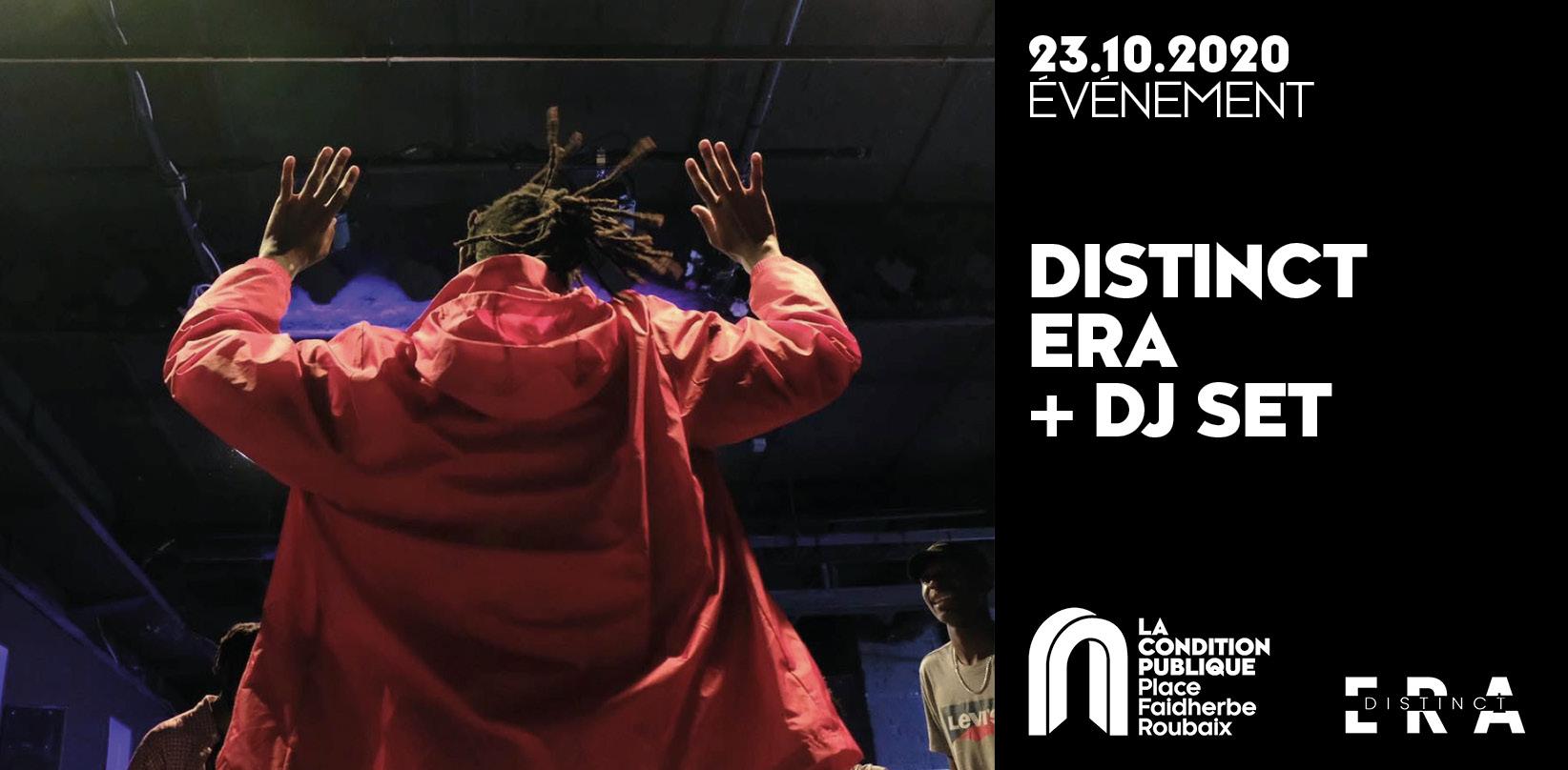 Soirée hip-hop Distinct Era