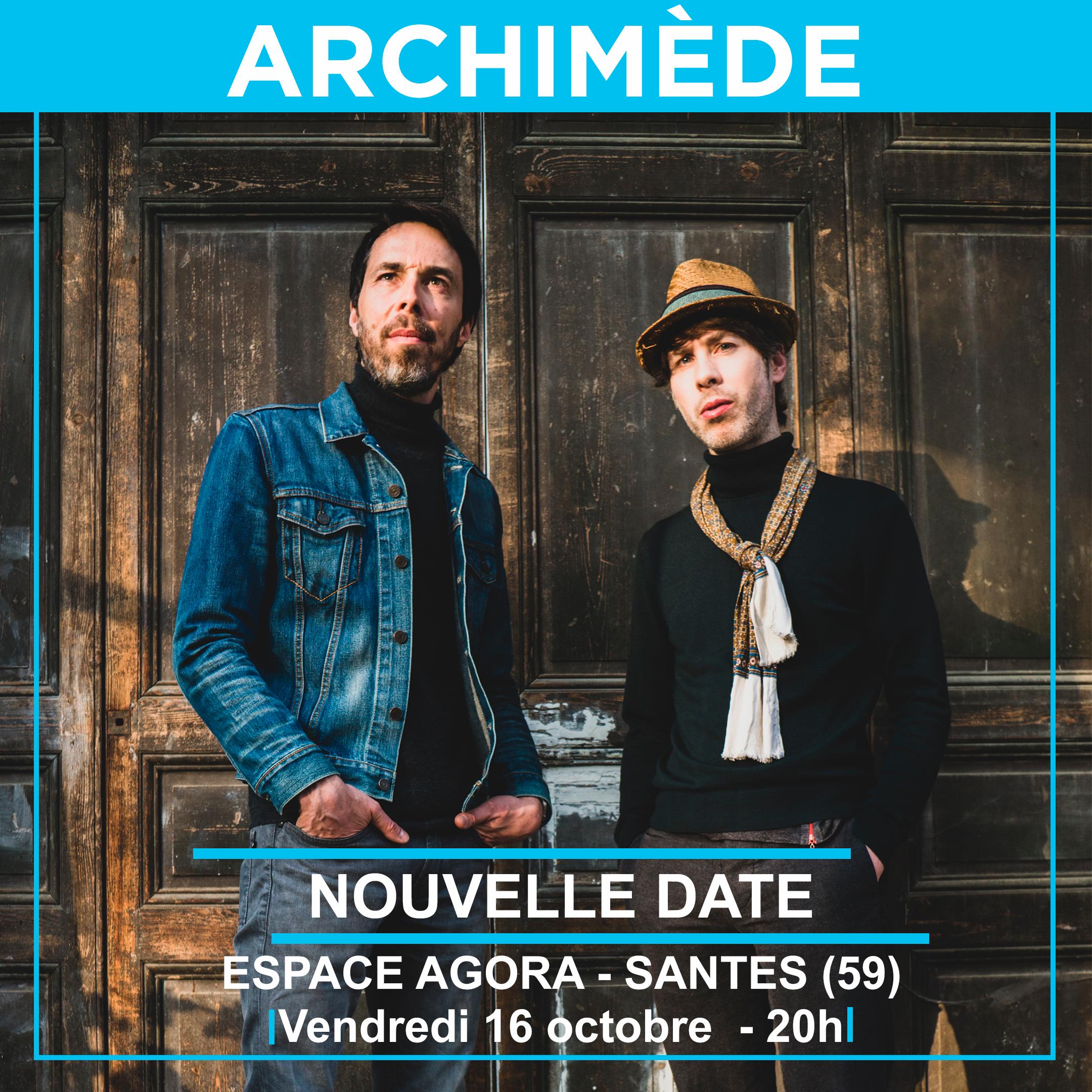 Archimède + les 12 cordes – Festival deci-delà