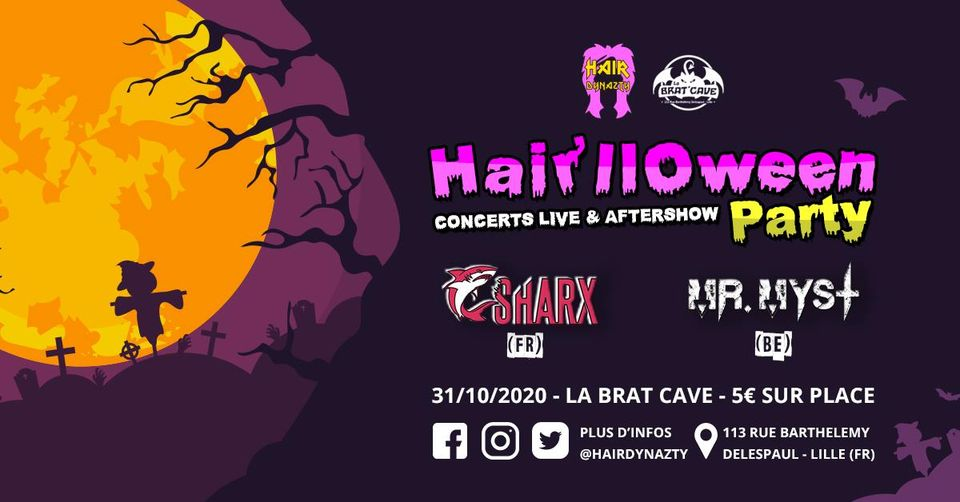 Hair'lloween Party à la Brat Cave