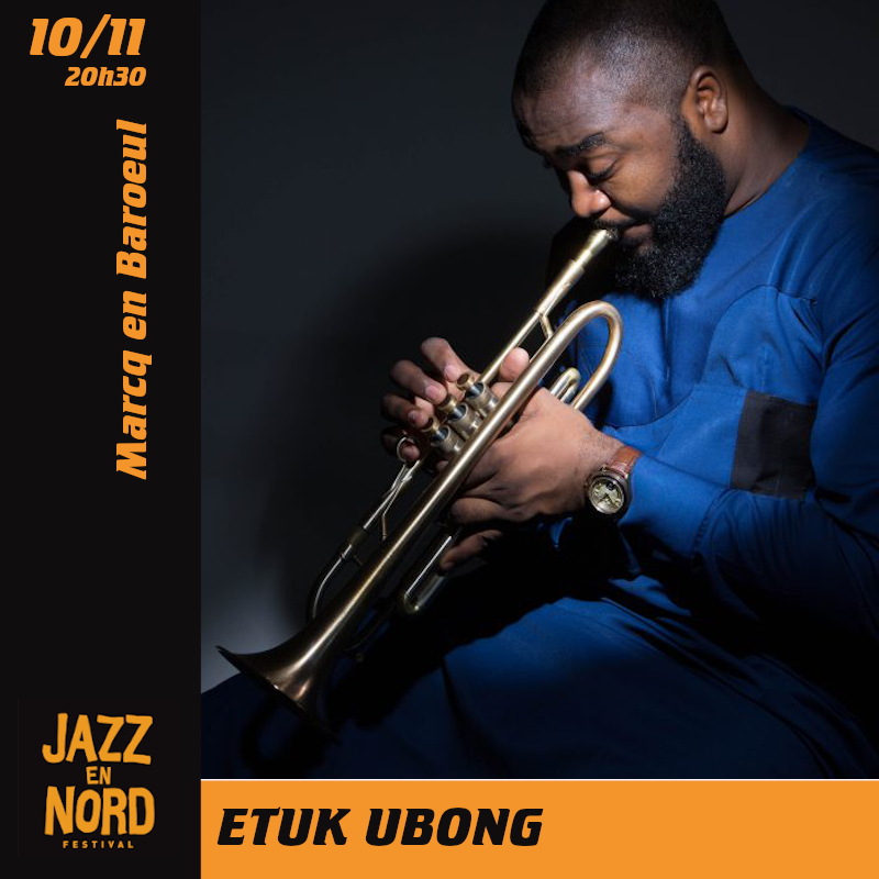 Etuk Ubong au Festival Jazz en Nord
