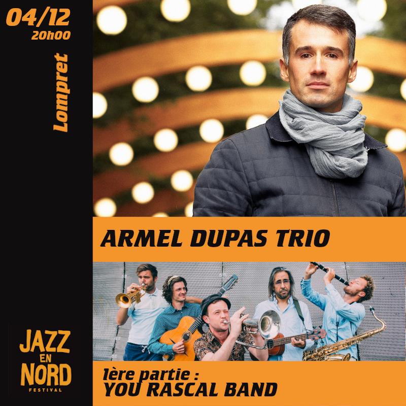 Armel Dupas trio / You Rascal Band