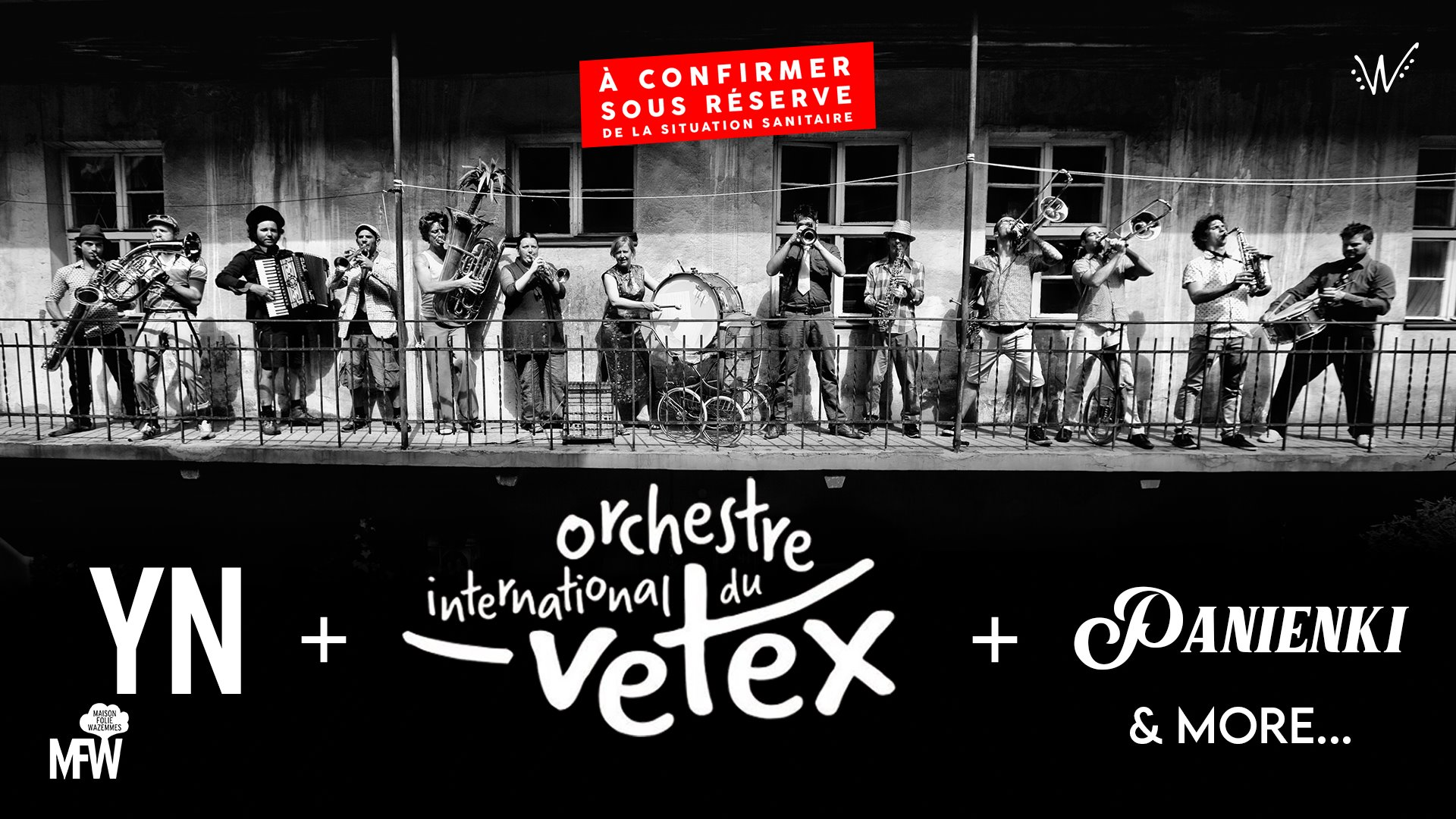 Vetex & Panienki & YN – Wazemmes l'Accordéon