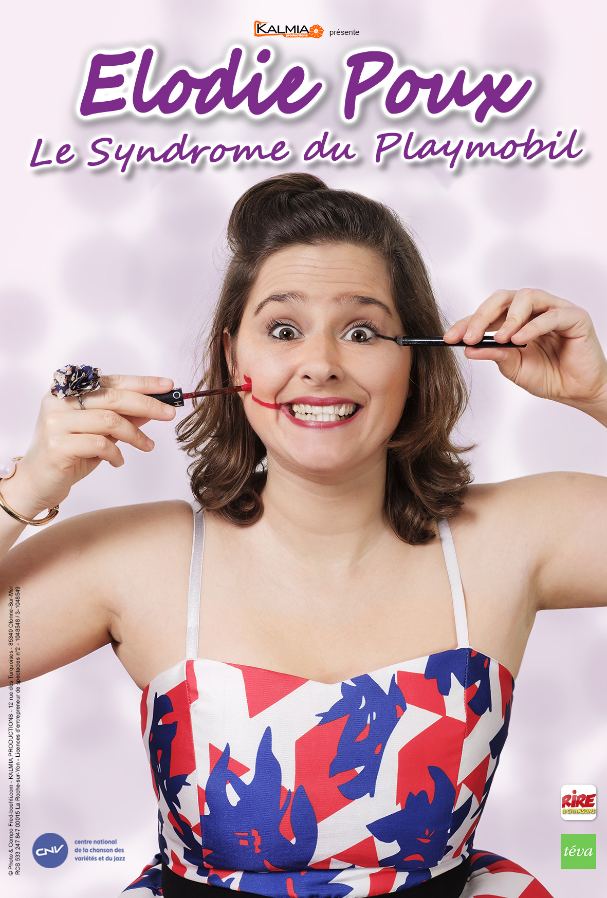 Élodie Poux au Théâtre Sébastopol