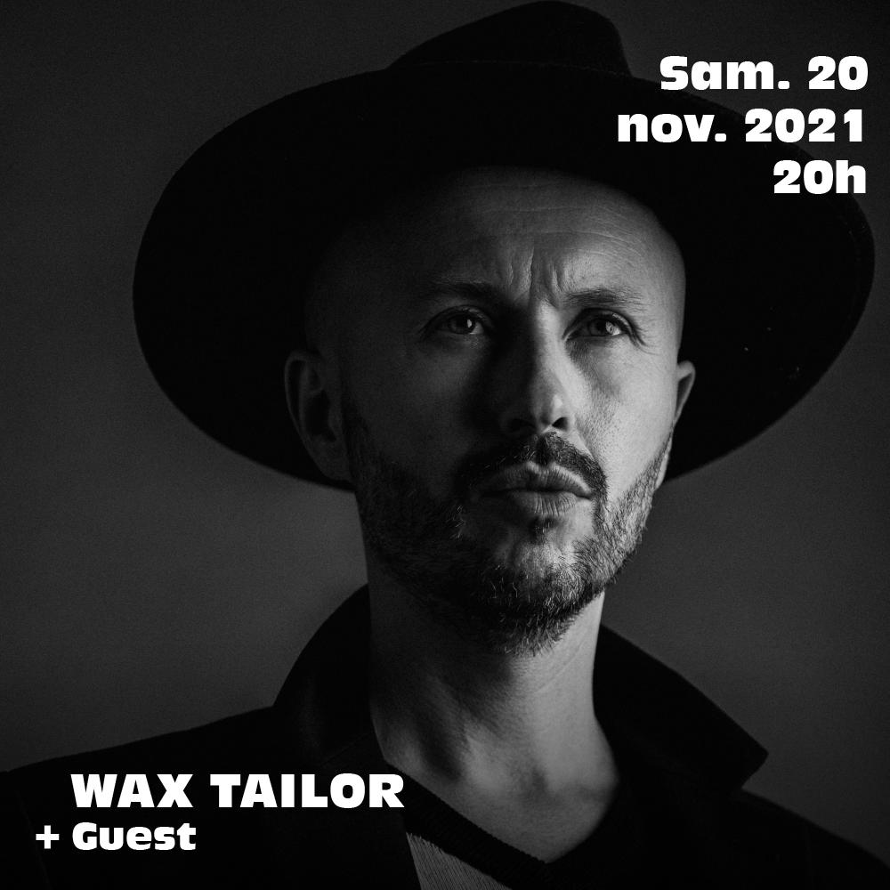 Wax Tailor live à l'Aéronef