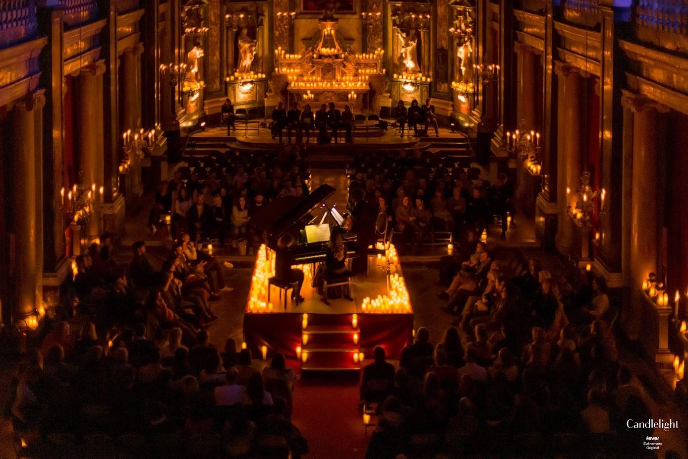 Candlelight : les concerts à la lueur des bougies