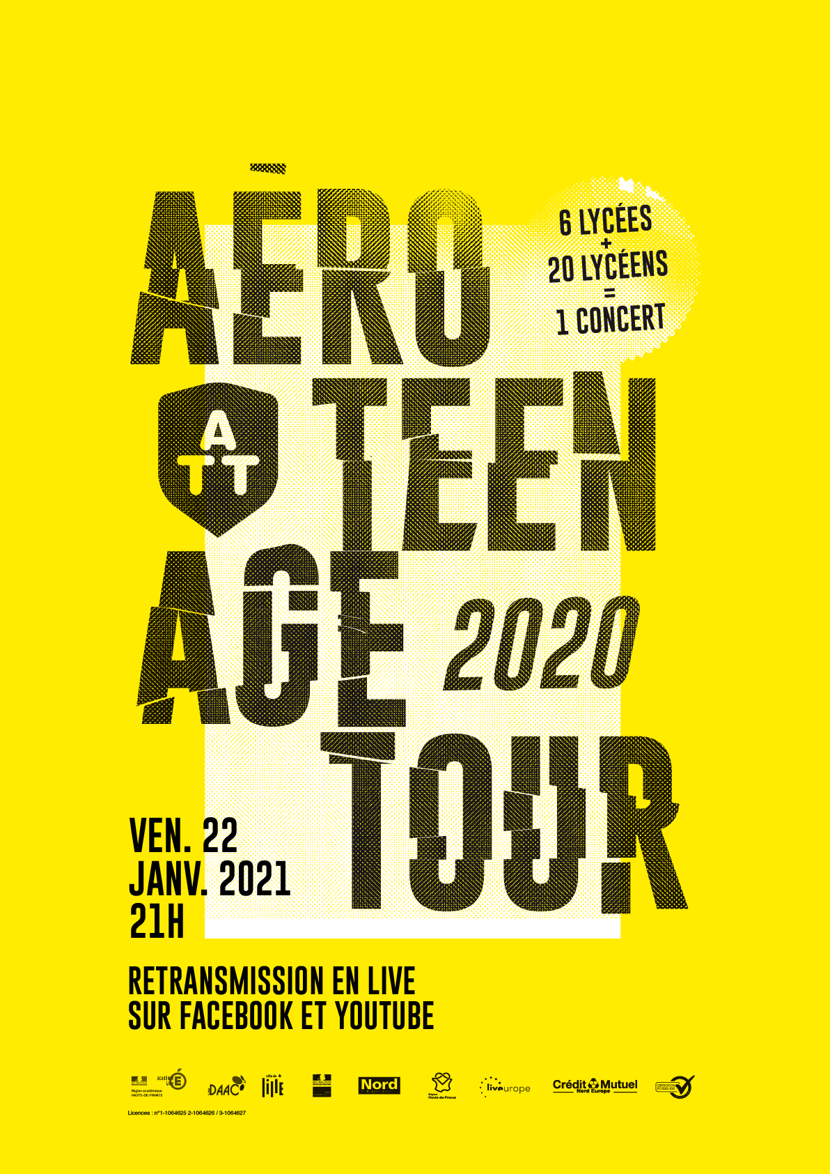 L'Aéro Teenage Tour en direct