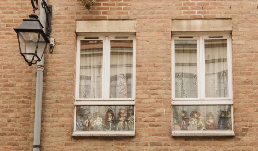 La Maison de poupées, une étape des balades urbaines à Lille.