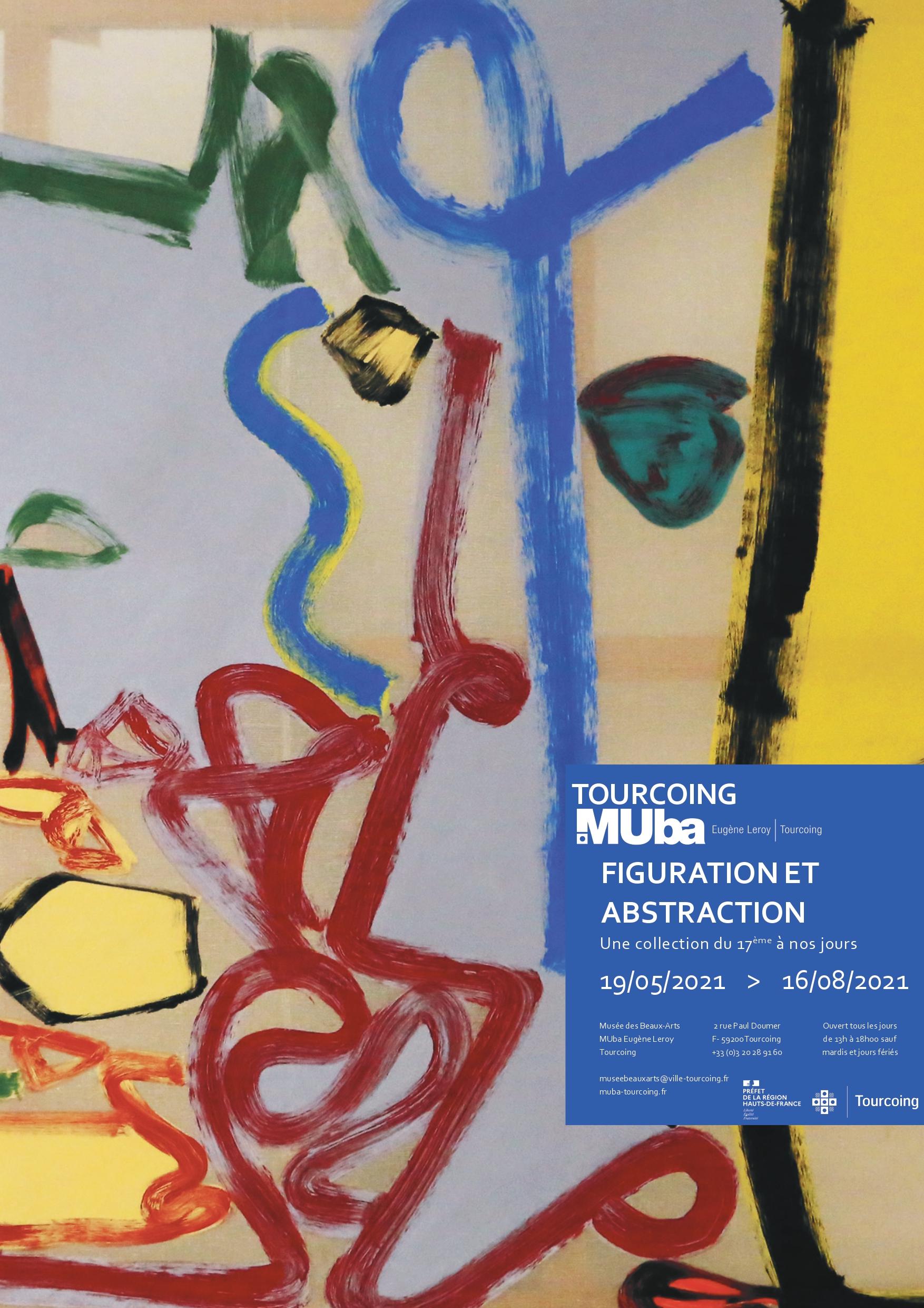 L'expo «Figuration et abstraction» au MUba Eugène Leroy