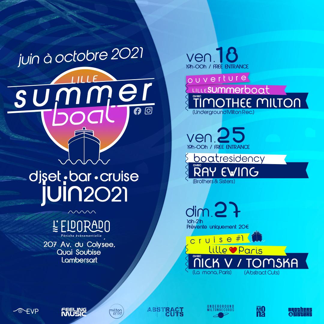 Lille Summer Boat 2021
