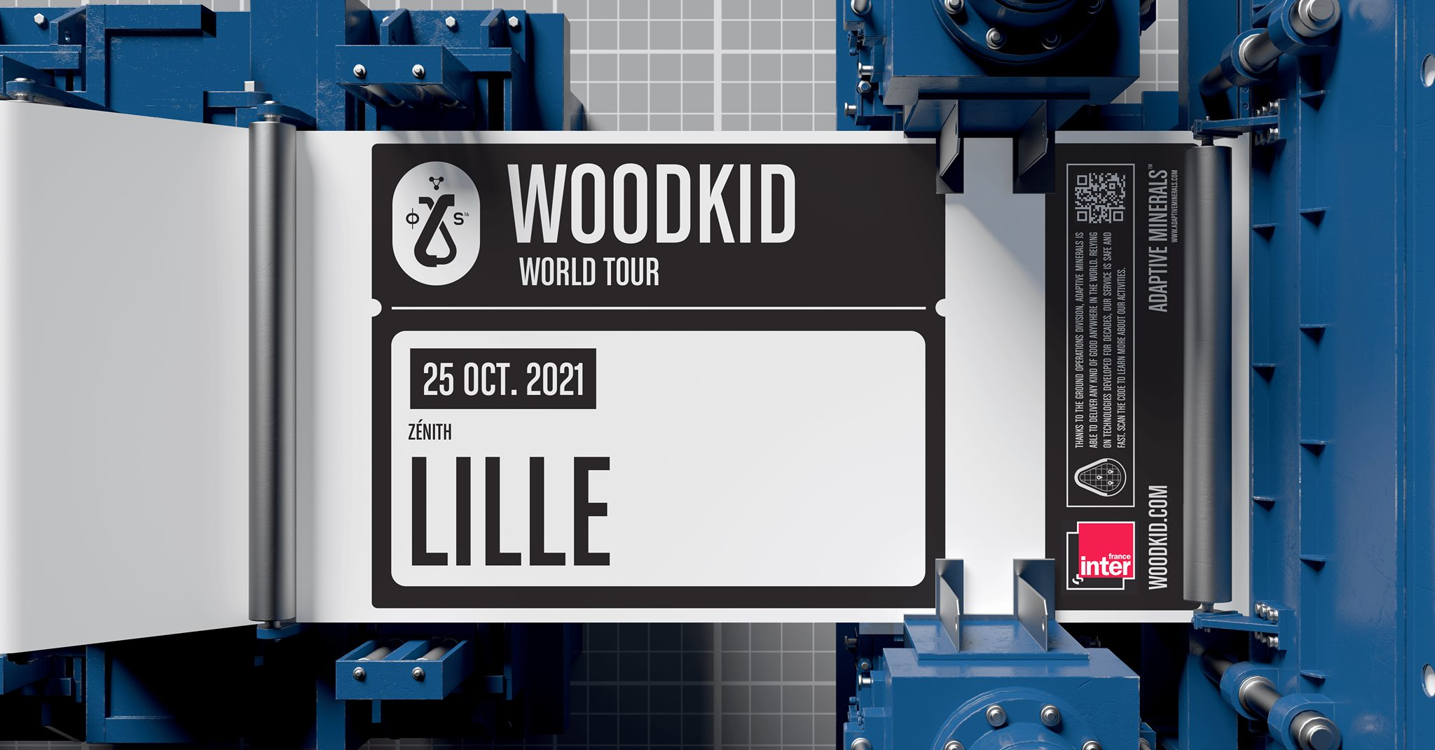 Woodkid + Awir Leon en concert au Zénith