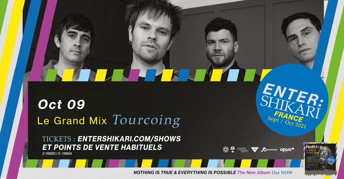 Enter Shikari au Grand Mix