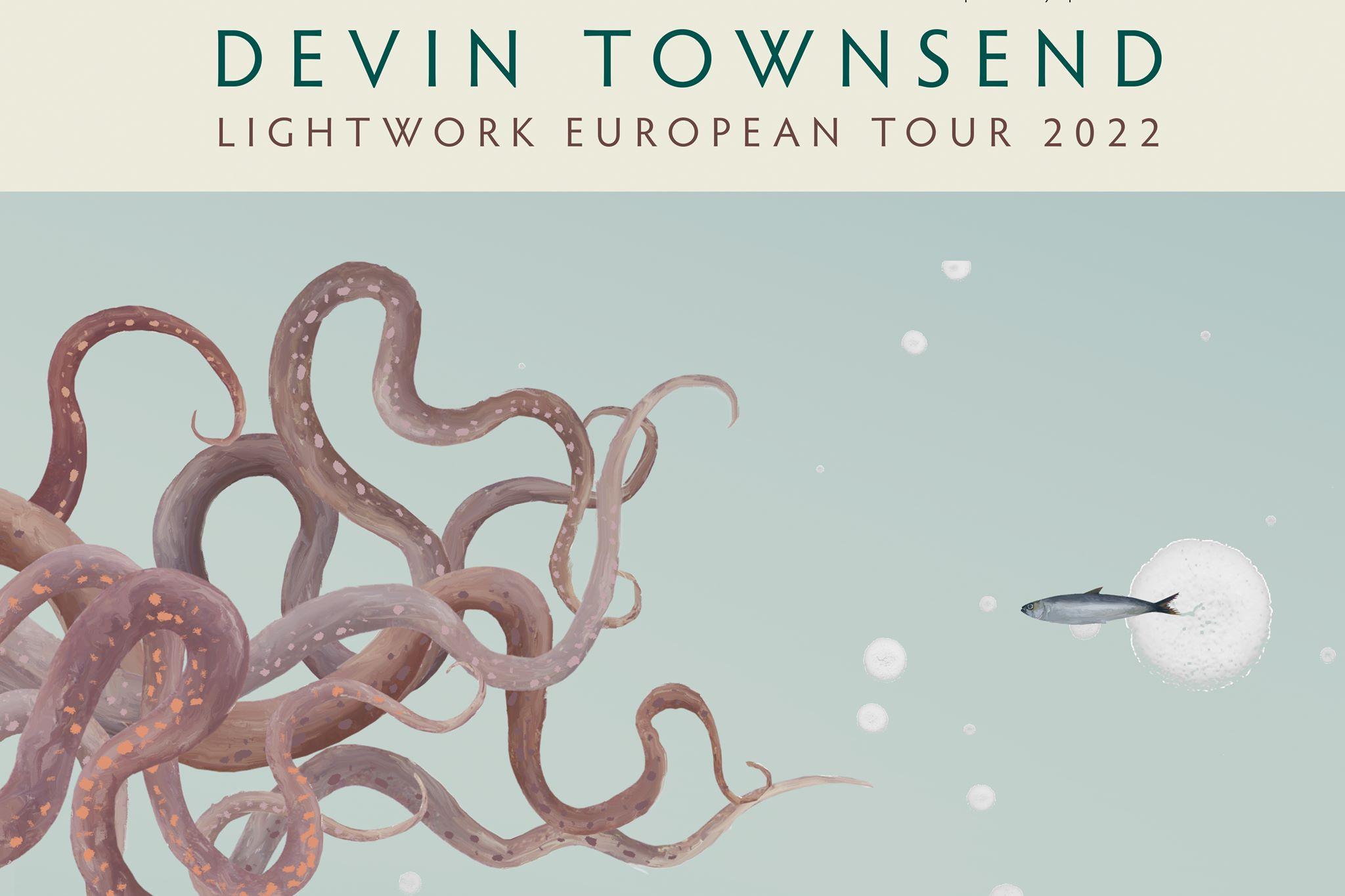 Devin Townsend en concert au Splendid