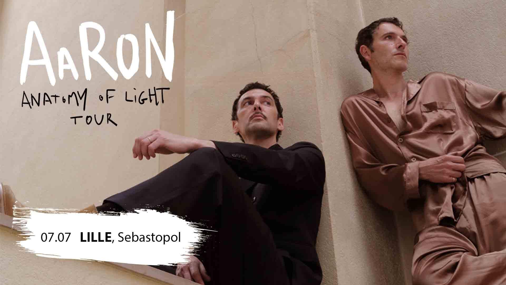 Aaron + Ussar en concert