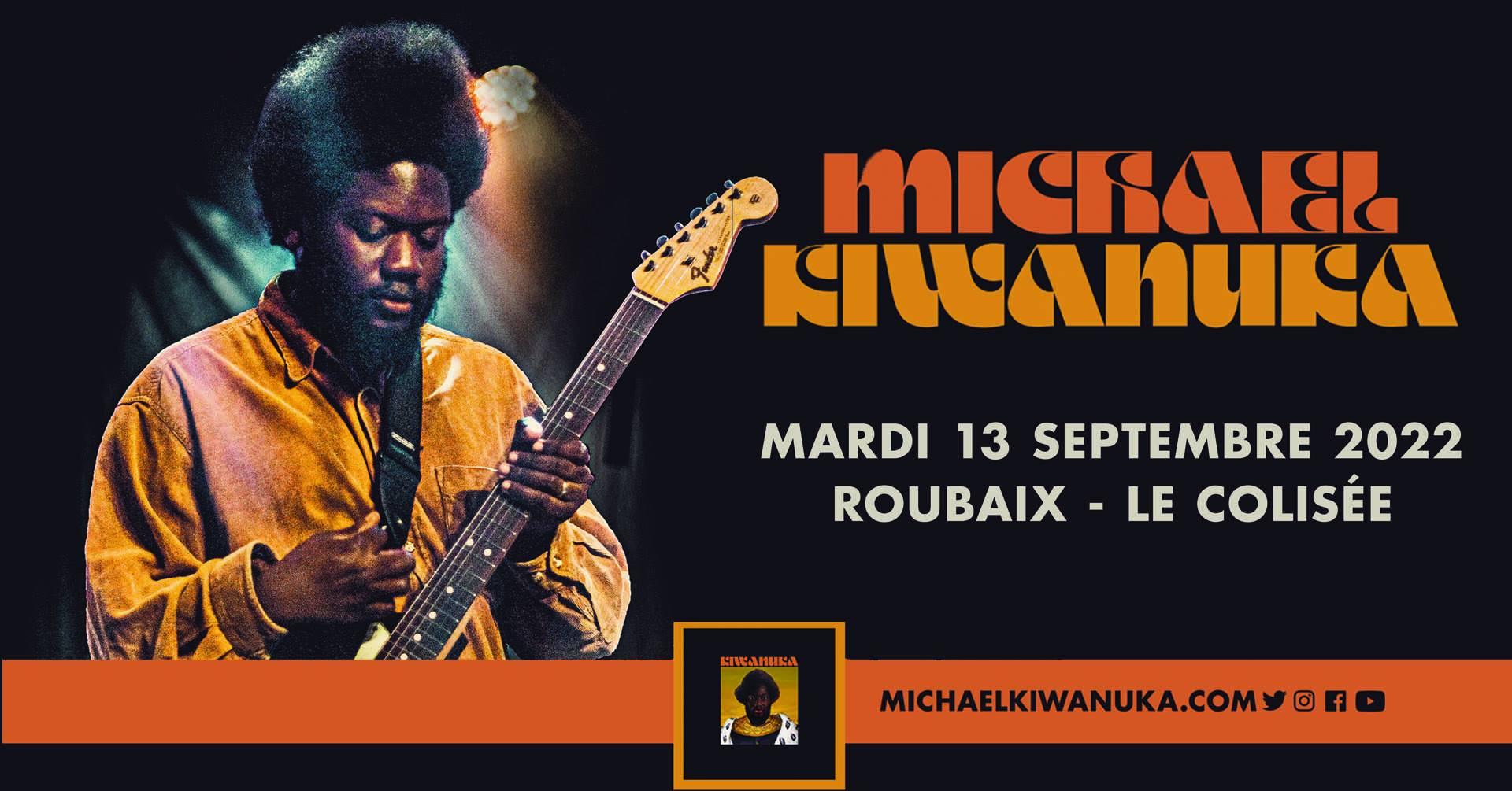 Michael Kiwanuka en concert au Colisée