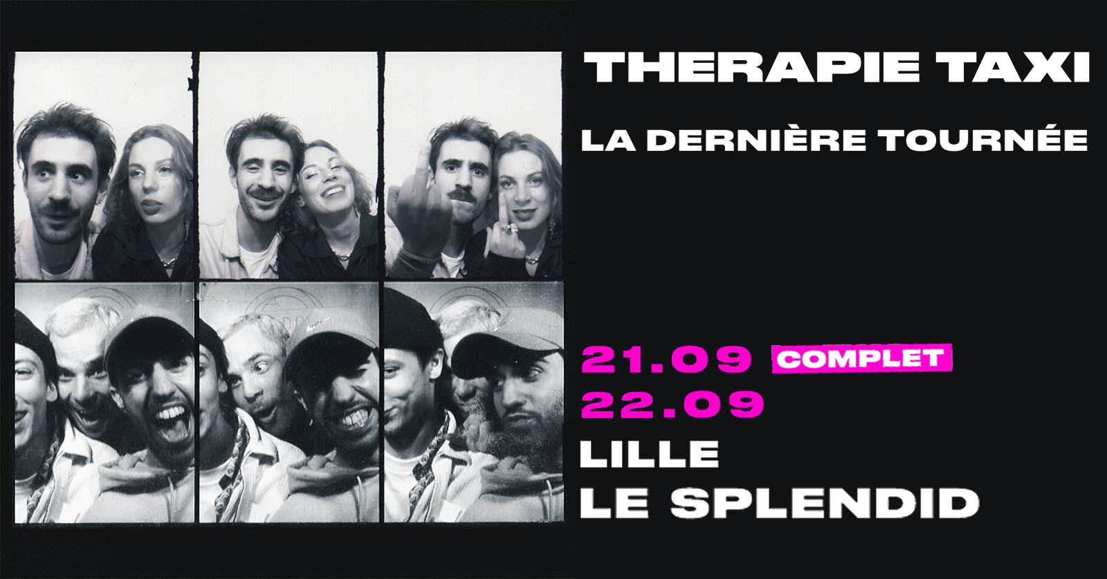 Therapie Taxi en concert au Splendid