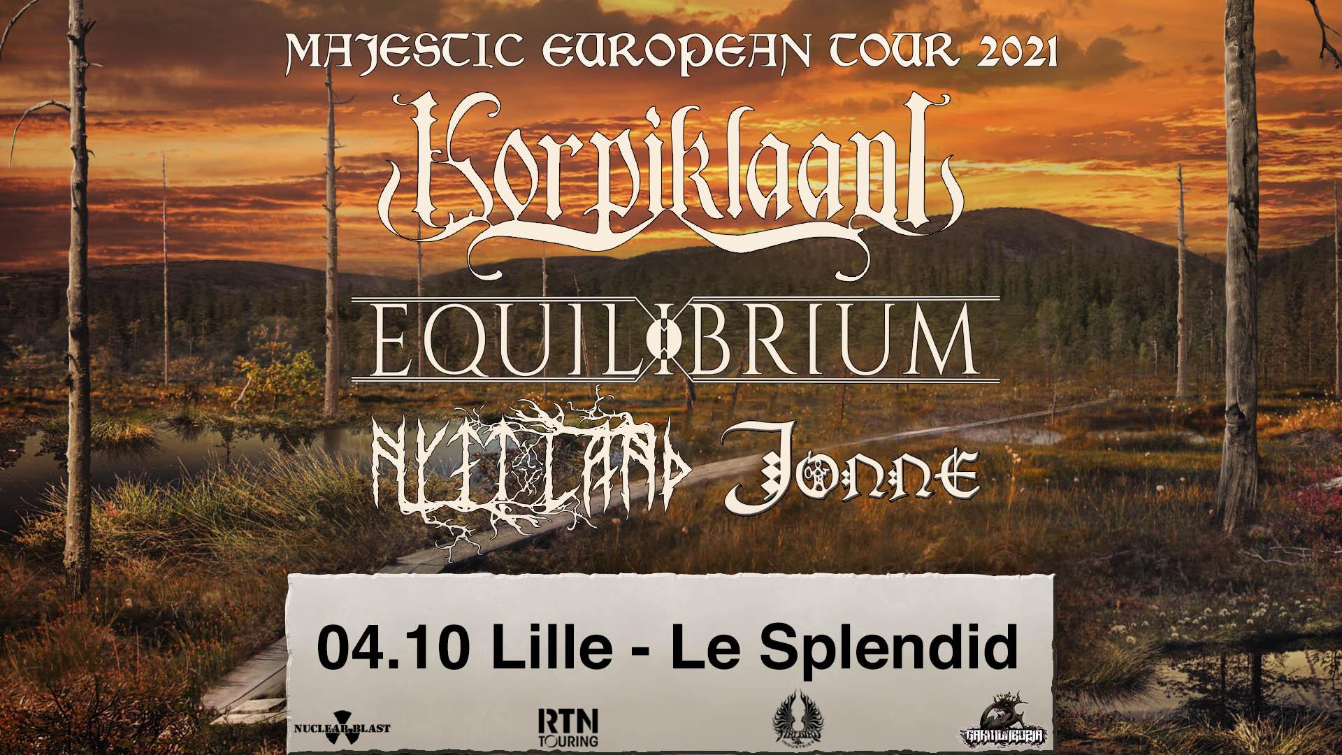 Korpiklaani + Equilibrium + Nytt Land + Jonne au Splendid