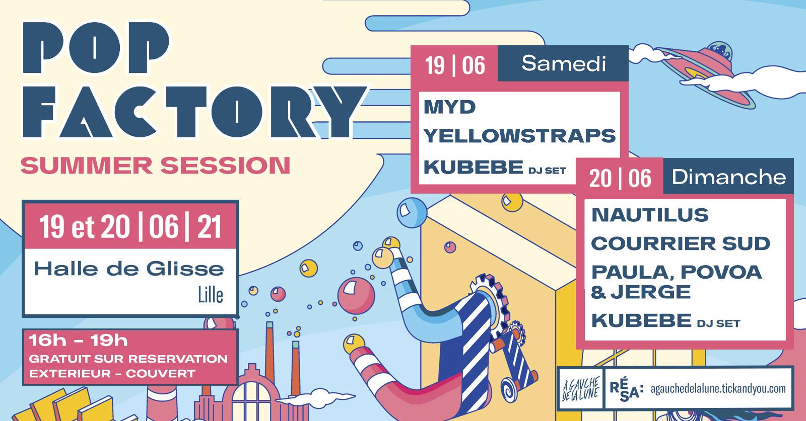 Pop Factory nous offre une Summer Session en attendant la rentrée !