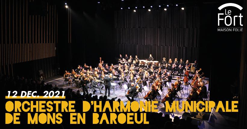 L'Orchestre d'Harmonie municipale de Mons en Baroeul en concert