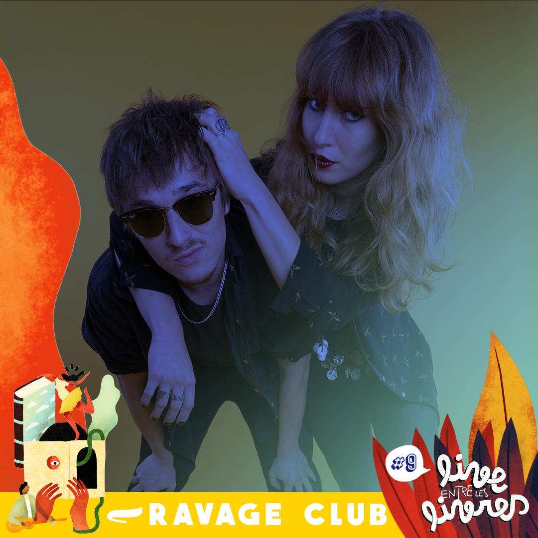 Ravage Club – Live entre les livres
