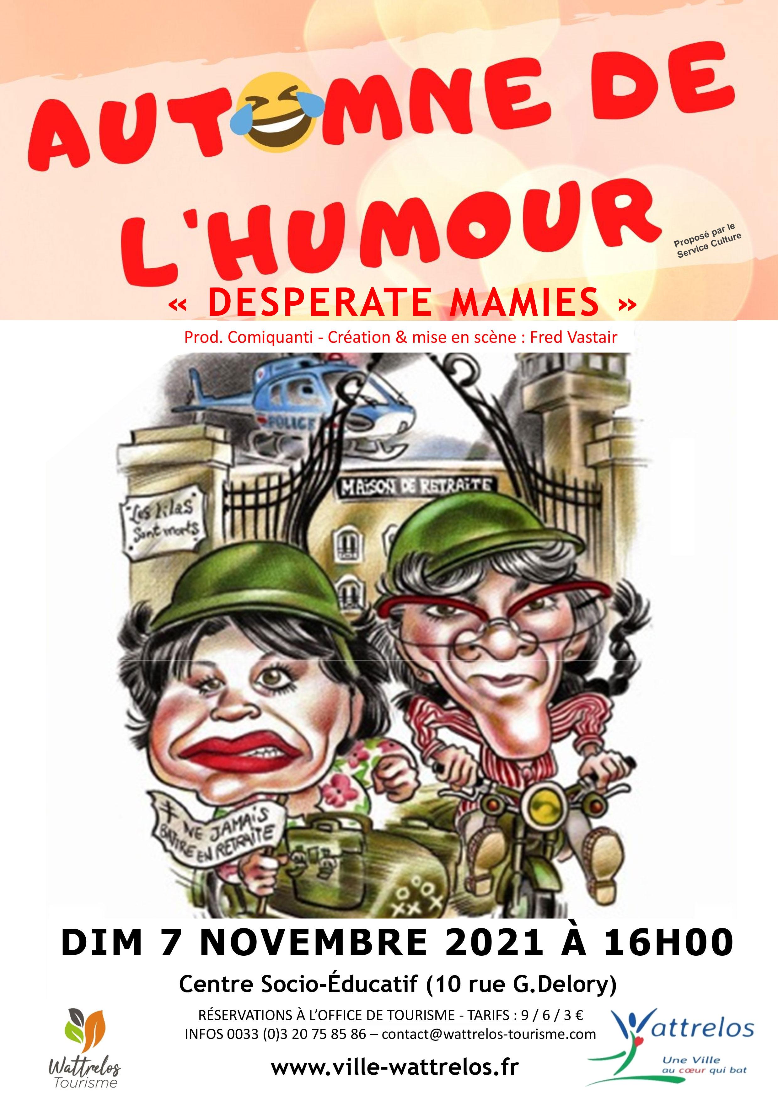 Desperate Mamies – Automne de l'humour