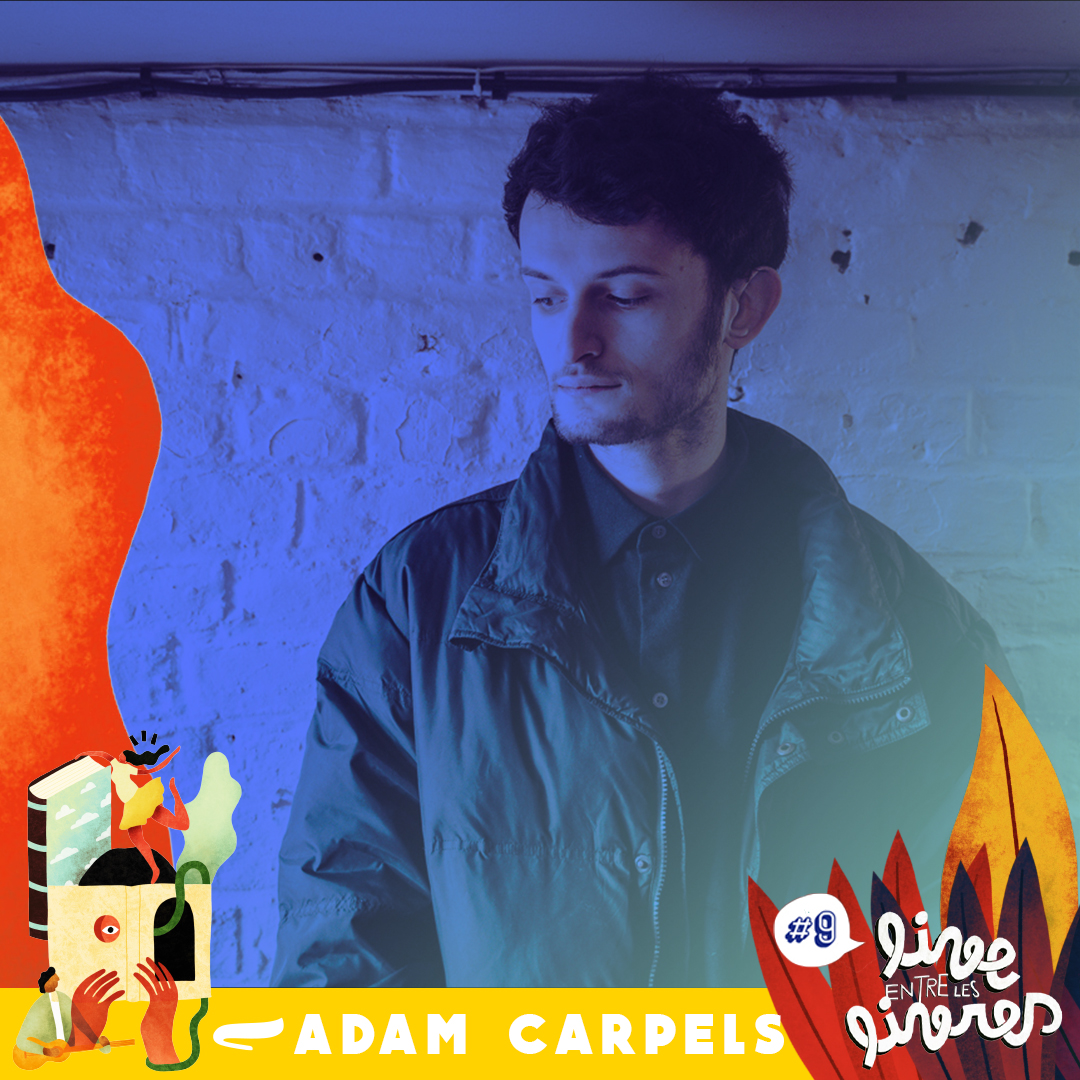Adam Carpels – Live entre les livres à Haussy