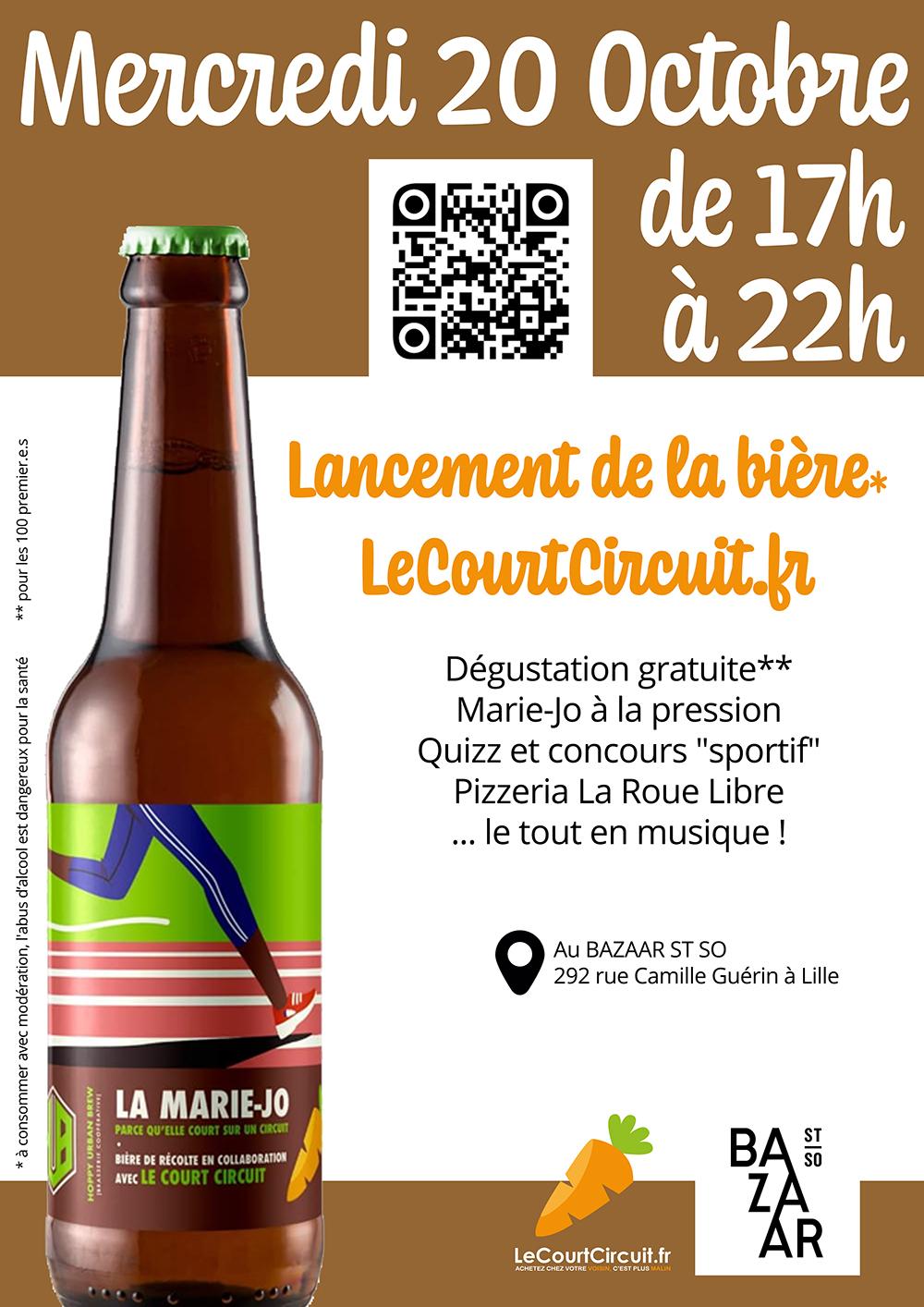 Lancement de la bière du Court Circuit !