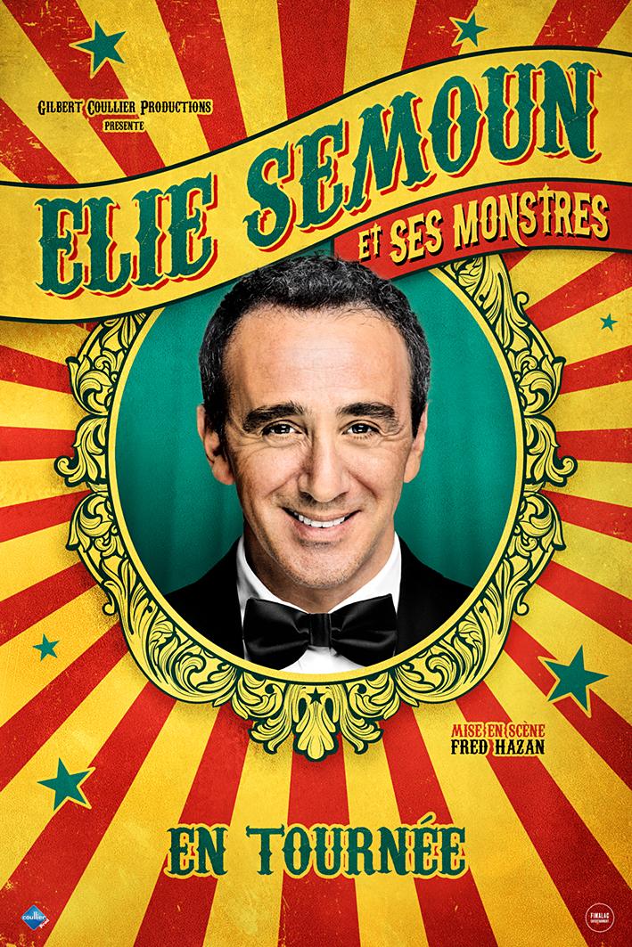 Élie Semoun et ses monstres