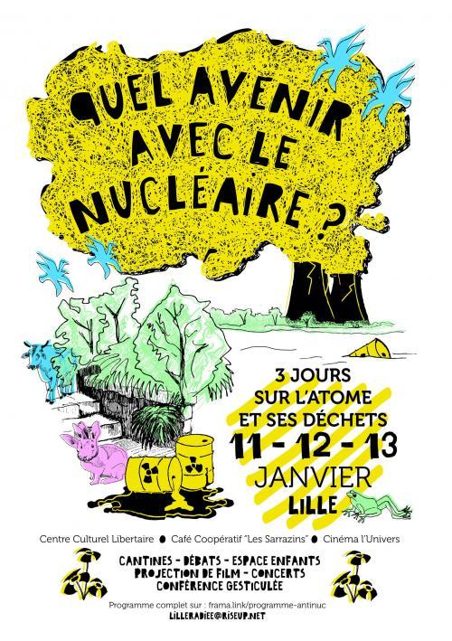 Quel avenir avec le nucléaire ? – 3 jours sur l'atome et ses déchets