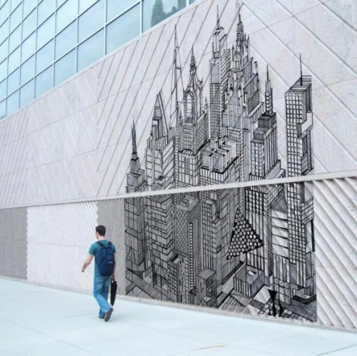 Les cités imaginaires de Vincent Lelièvre