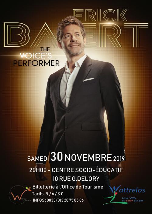Erick Baert – The Voice's Performer