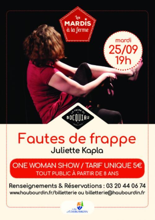 Juliette Kapla : fautes de frappe