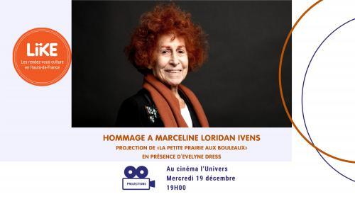 Projection hommage à Marceline Loridan Ivens