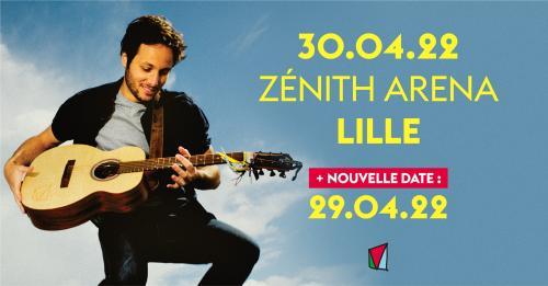 Vianney en concert au Zénith